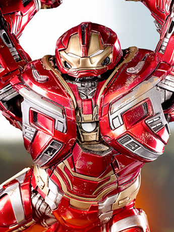 Avengers: Inifinity War Battle Diorama Series Hulkbuster 1/10 Art Scale Statue