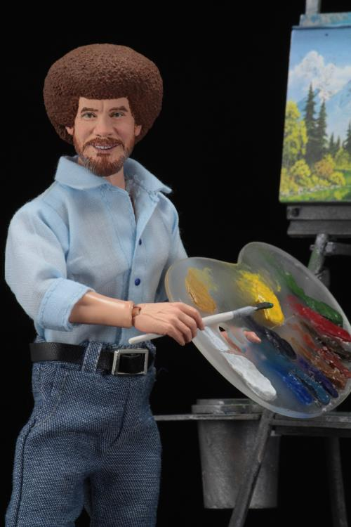 The Joy of Painting Bob Ross Figure