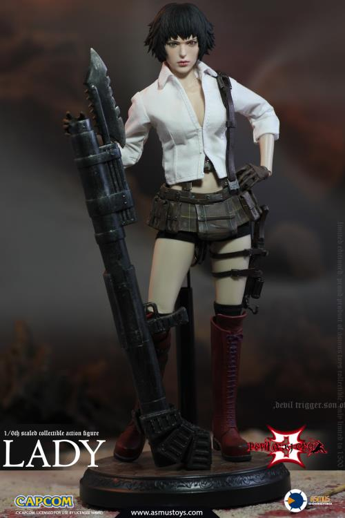 Devil May Cry 3 Lady 1/6 Scale Figure