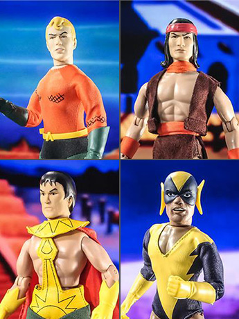 "Super Friends Hall of Justice Battle Pack 8"" Retro Figure Four Pack #2 BBTS Exclusive (LE 25)"