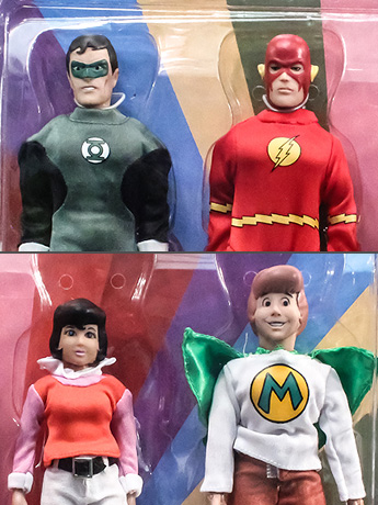 "Super Friends World's Greatest Heroes 8"" Retro Figure Four Pack BBTS Exclusive (LE 25)"