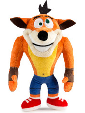 "Crash Bandicoot (Crazy Eyes) 8"" Phunny Plush"