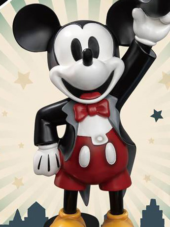 Disney Master Craft MC-008 Tuxedo Mickey 90th Anniversary PX Previews Exclusive Statue