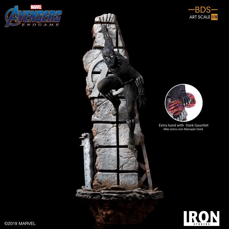 Avengers: Endgame Battle Diorama Series Black Panther 1/10 Art Scale Limited Edition Statue