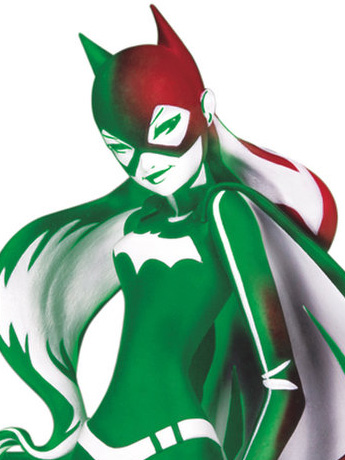 DC Artist Alley Batgirl (Holiday Variant) Statue (Sho Murase)