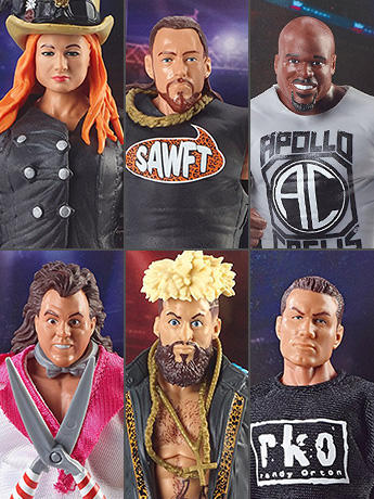 WWE Elite Collection Series 49 Set of 6 Figures