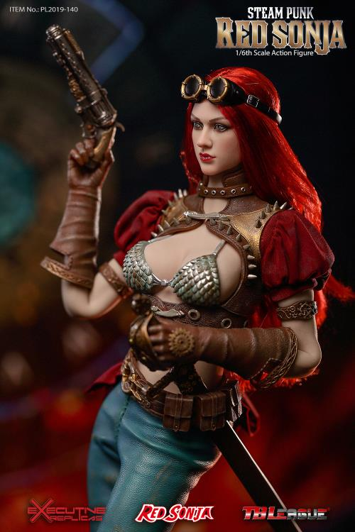 Red Sonja (Steam Punk) Deluxe 1/6 Scale Figure