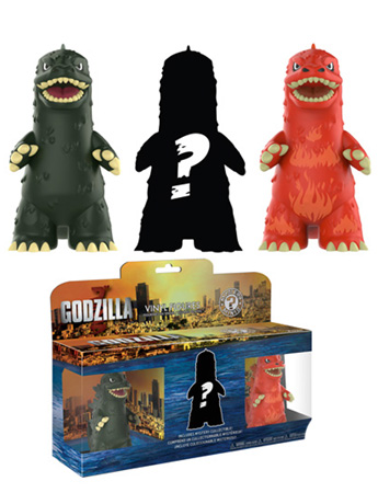 Godzilla Mystery Minis Three-Pack