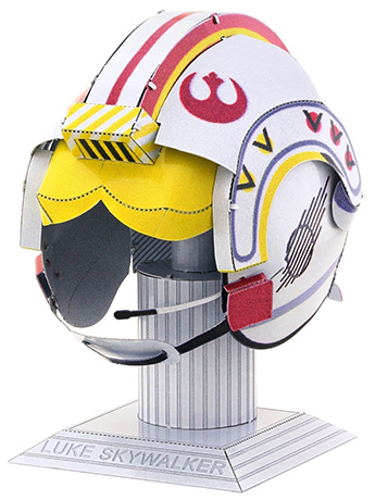 Star Wars Metal Earth Luke Skywalker Helmet Model Kit