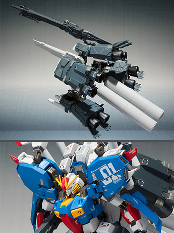 Gundam Metal Robot Spirits Ka Signature S Gundam Exclusive Booster Unit