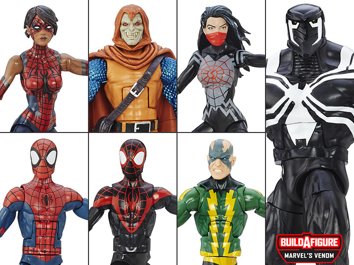Curious classic spiderman toys