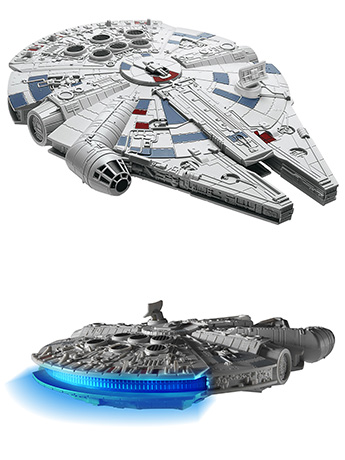 Star Wars Millennium Falcon (The Last Jedi) Model Kit