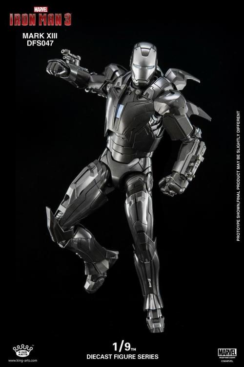 iron man 3 dfs047 iron man mark xiii 1  9 scale figure