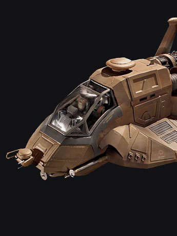 Battlestar Galactica Colonial Raptor 1/32 Scale Model Kit
