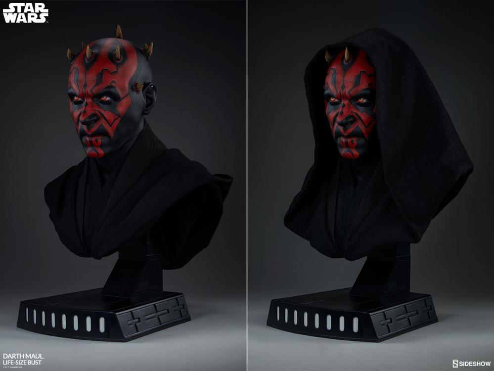 Star Wars Darth Maul (The Phantom Menace) Life Size Bust