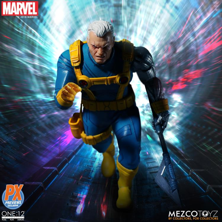 Marvel One:12 Collective Cable PX Previews Exclusive
