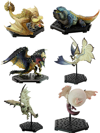 Monster Hunter Capcom Figure Builder Standard Model Plus Vol.10 Box of 6 Figures