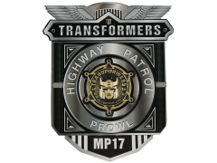 Transformers Masterpiece MP-17 Prowl Collector Coin