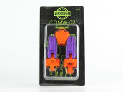 CDMW-02 Construction Brigade Power Parts Custom Hips/Waist (Orange)