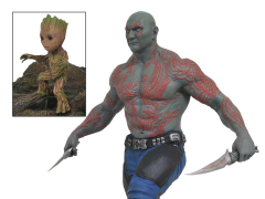 Guardians of the Galaxy Vol. 2 Drax & Baby Groot Gallery Statue