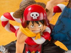 One Piece Film: Gold FiguartsZERO Monkey D. Luffy Opening Exclusive