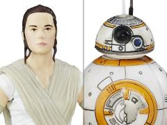 "Star Wars: The Black Series 6"" Rey Jakku and BB-8 (The Force Awakens)"