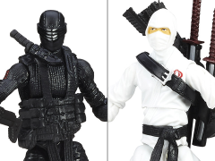 G.I. Joe 50th Anniversary Wave 4 Arashikage Clash Versus Two Pack BBTS Exclusive