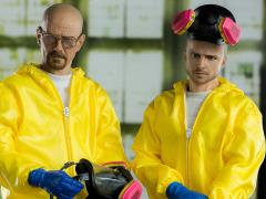 Breaking Bad 1/6 Scale Figure - Heisenberg & Jesse Hazmat Suit Combo