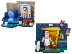 Hello Neighbor The Living Room & Basement Door Small Construction Set