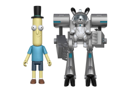 "Rick and Morty Series 1 Mr. Poopybutthole 5"" Articulated Action Figure (Snowball Parts)"