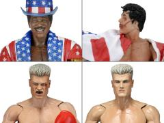 Rocky 40th Anniversary Series 02 Set of 4 Figures
