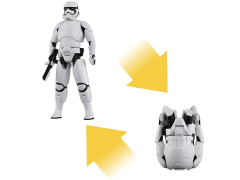 Star Wars Egg Force First Order Stormtrooper (The Force Awakens) Figure