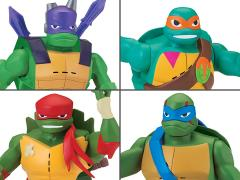 Rise of The TMNT Deluxe Wave 1 Set of 4 Figures