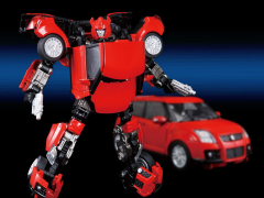 Transformers Alternity A-03 Suzuki Swift Cliffjumper (Red Pearl)