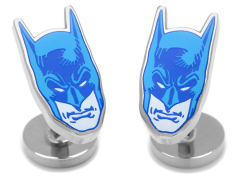 DC Comics Blue Batman Mask Cufflinks