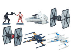 Star Wars Micro Machines Galactic Showdown (The Force Awakens) Deluxe Vehicle Pack