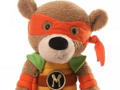 "TMNT 13.5"" Plush Teddy Bear - Michelangelo"