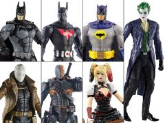 DC Comics Multiverse Series T Set of 7 Figures