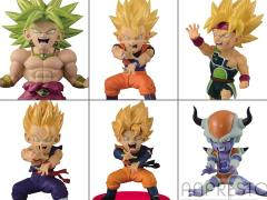 Dragon Ball Z World Collectable Figure Battle of Saiyans Volume 04 - Set of 6