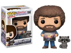 Pop! TV: The Joy of Painting - Bob Ross And Raccoon