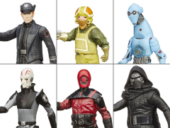 "Star Wars 3.75"" Jungle and Space Figure Wave 2 Set of 6"
