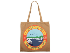 Friday the 13th Camp Crystal Lake Canvas Tote