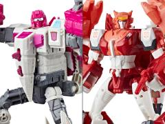Transformers Power of the Primes Voyager Wave 2 Set of 2