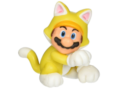 "World of Nintendo 2.50"" Limited Articulation Figure - Cat Mario"