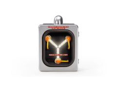 Back to The Future Mini Flux Capacitor Stainless Steel Edition