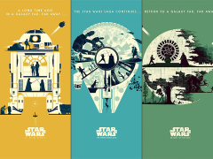 Star Wars Matt Ferguson Set of 3 Limited Edition Art Prints
