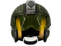 Star Wars Gold Leader Rebel Pilot Helmet 1:1 Scale Wearable Helmet