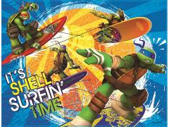"TMNT ""It's Shell Surfin' Time"" LED Canvas Art"