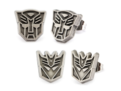 Transformers Autobot & Decepticon Logo Stud Earring Set