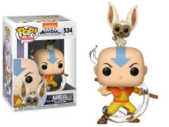 Pop! Animation: Avatar: The Last Airbender - Aang With Momo